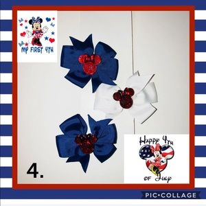 Minnie Set of 3 Grosgrain-Choose from 6 Sets!